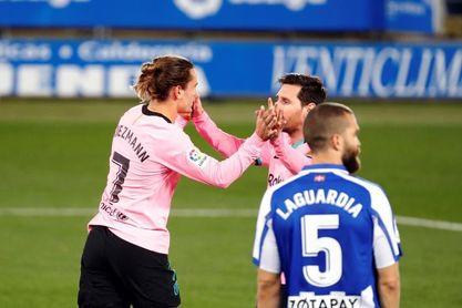 Un tío de Griezmann acusa a Messi del bajo rendimiento del francés
