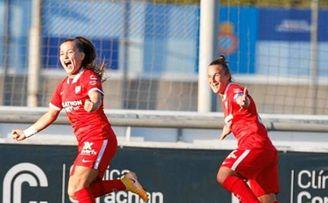 Abultada victoria del Sevilla Femenino ante el Espanyol .