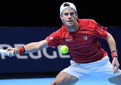Djokovic no da opción a Schwartzman en las Finales ATP