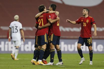 España logra su victoria más amplia de siempre frente a Alemania