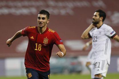 """Ferrán Torres: """"Todo jugador sueña con meter tres goles"""""""