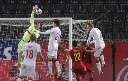 3-1. Lukaku liquida a Dinamarca y mete a Bélgica en la fase final