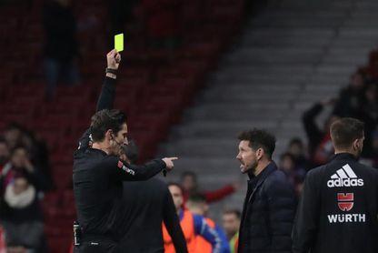 Munuera Montero en el Atlético de Madrid-Barcelona