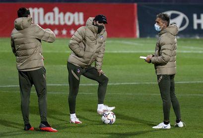 El At. Madrid defiende sin Suárez una racha de 23 partidos de Liga sin perder
