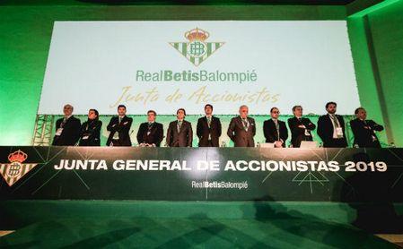 El Betis presenta un balance positivo en las cuentas 19/20 y recortes para la 20/21