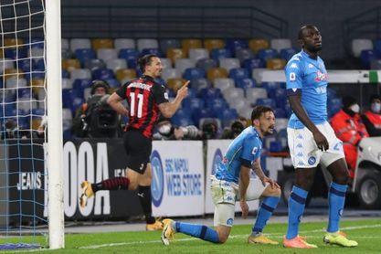 Ibrahimovic pone líder al Milan, pero hace saltar alarmas al salir lesionado