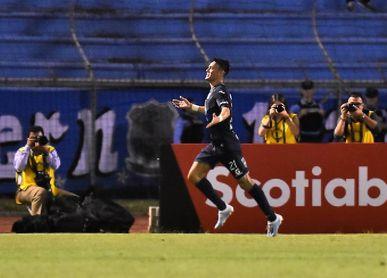 Motagua vence al Real de Minas en el séptimo año del argentino Vázquez con el club