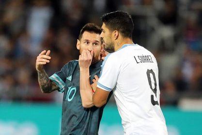 """Suárez se muestra preocupado por el lado """"humano"""" de Messi"""