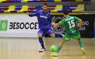 Antequera 3-2 Betis Futsal: Doloroso adiós a la Copa.