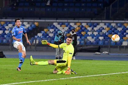 Chucky Lozano certifica el triunfo del Nápoles en su primer partido sin Diego
