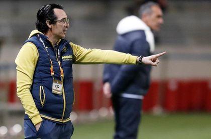 """Emery: """"Esperamos que el Sivasspor salga muy fuerte al partido"""""""