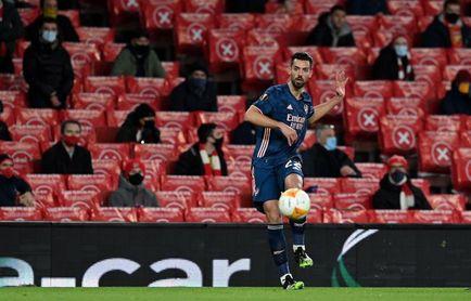Pablo Marí marca su primer gol en el Arsenal