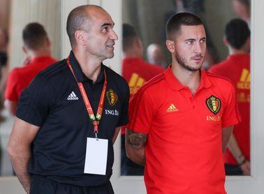 Roberto Martínez sobre Hazard: ?Es solo una lesión muscular normal?