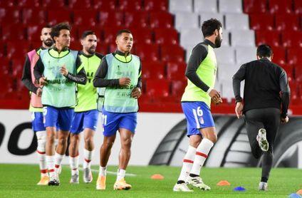 El Granada empieza a preparar el partido ante el PAOK con varios jugadores del filial