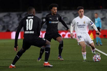 Arribas debuta en Liga de Campeones con el Real Madrid