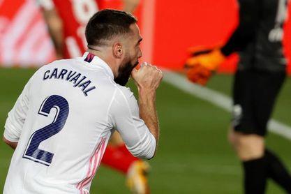 2-0. El Real Madrid exhibe superioridad
