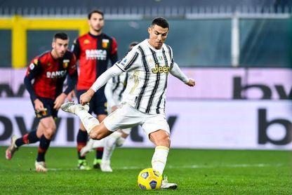 Cristiano celebra con doblete sus 100 partidos con el Juventus