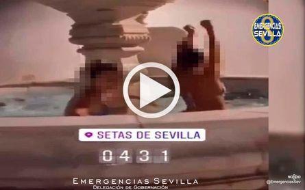 Identificada tras bañarse de madrugada en la Encarnación (video)
