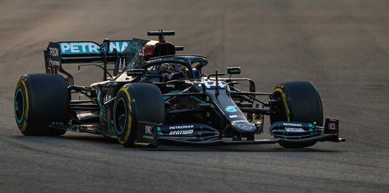 """Hamilton: """"Ha sido difícil, pero hace una semana no esperaba estar aquí hoy"""""""