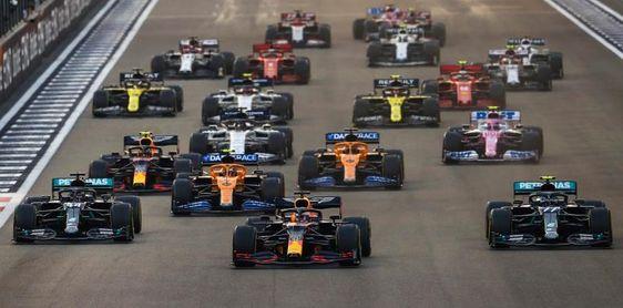 Verstappen se une a la fiesta de Mercedes
