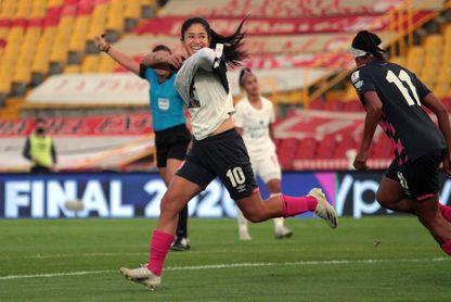 2-0. La paraguaya Gauto y la venezolana Rangel llevan al título al Santa Fe