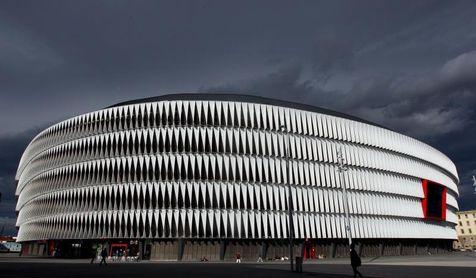 El Athletic proyecta una grada de animación en San Mamés de 2.200 localidades