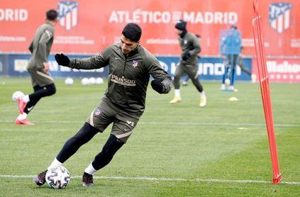 El Atlético, de vuelta al césped para preparar la Copa del Rey