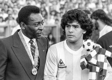 Xavi, Maradona, Messi, Pelé y Ronaldo, Balón de Oro al mejor equipo historia