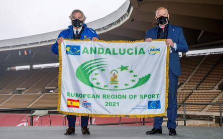 Andalucía, primera Región Europea del Deporte