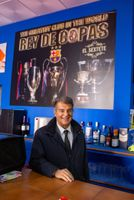 Laporta busca en Málaga 'ADN del Barça'