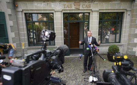 Rusia espera fallo del TAS sobre sanción de cuatro años por dopaje de Estado.