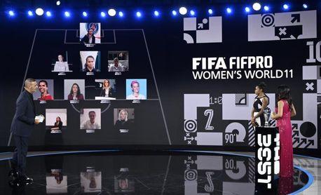 Vero Boquete, en el XI del año FIFPro FIFA