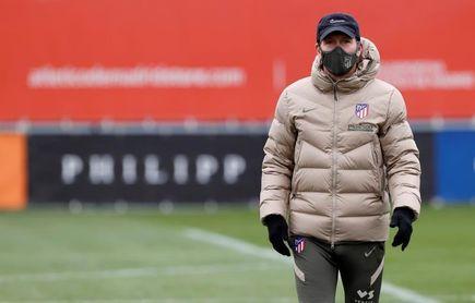 """Simeone: """"Vi bastante bien a Diego Costa y mañana estará con nosotros"""""""