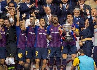 El Barcelona primer finalista después de superar al Real Betis (3-6)