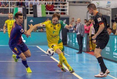 4-4. Jaén FS alcanza su tercera final en un partido resuelto tras 32 penaltis