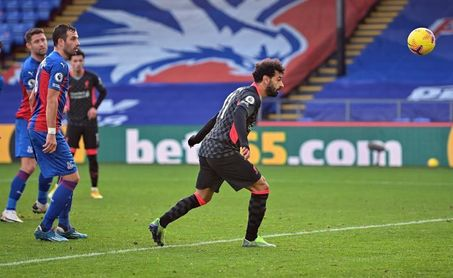 El líder Liverpool se da un festín (0-7) en su visita al Crystal Palace
