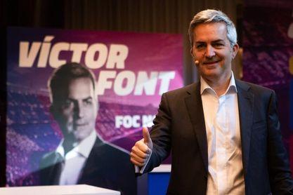 Víctor Font: el precandidato imperturbable