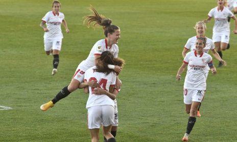 El Sevilla F.C. Femenino tira del 'Nunca se rinde' para cerrar con victoria el 2020
