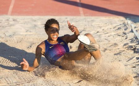 """Yulimar Rojas: """"Saltar 16 metros no es fácil, pero tampoco es imposible""""."""