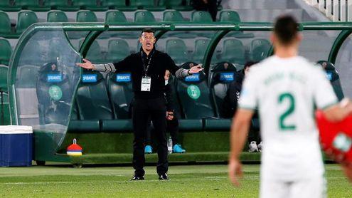 Almirón se someterá a nuevo test el lunes y está descartado ante el Madrid