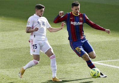 Koeman recupera a Lenglet en el once y Sergio a Joaquín en defensa