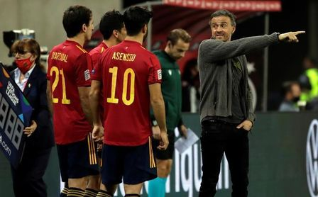 """Luis Enrique: """"No dependemos de ningún jugador""""."""