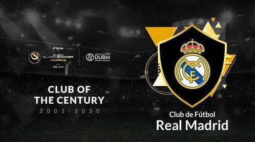 El Real Madrid elegido mejor club del siglo en los Globe Soccer Awards
