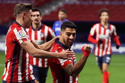 1-0. Luis Suárez ejerce de líder