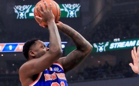 86-95. Randle logra un triple-doble en la victoria de los Knicks ante Cavaliers.
