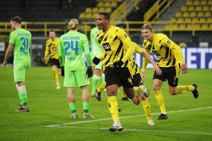 2-0. Akanji y Sancho devuelven al Dortmund a la zona 'Champions'