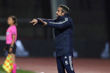 """Jorge Vilda: """"Estar en la Eurocopa de Inglaterra es nuestro sueño"""""""