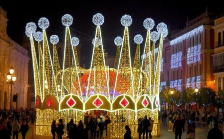 Así será la Cabalgata de Reyes de Sevilla, con recorrido en globo y por Youtube