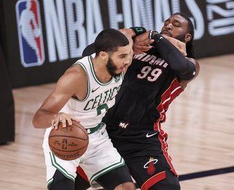 120-122. Tatum y Brown deciden triunfo con suspense de los Celtics