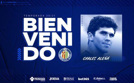 Oficial: Carles Aleñá, cedido al Getafe hasta finales de temporada